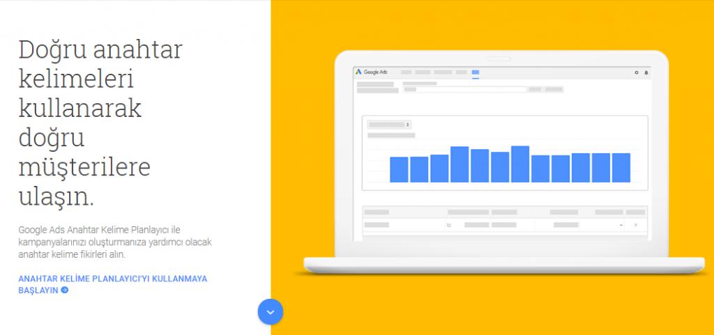 google kelime planlayıcı ile ziyaretçi sayınızı arttırmanız mümkündür.